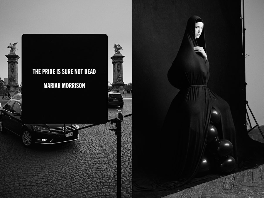 Mariah Morrison - Paris Is Dead by Rene Habermacher