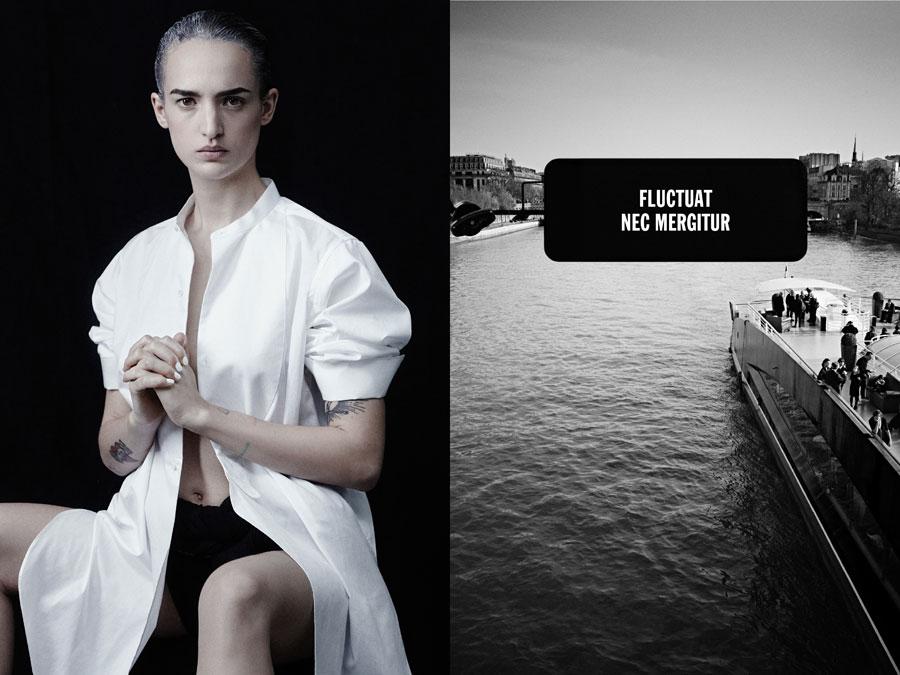 Agathe Rousselle - Paris Is Dead - by Rene Habermacher