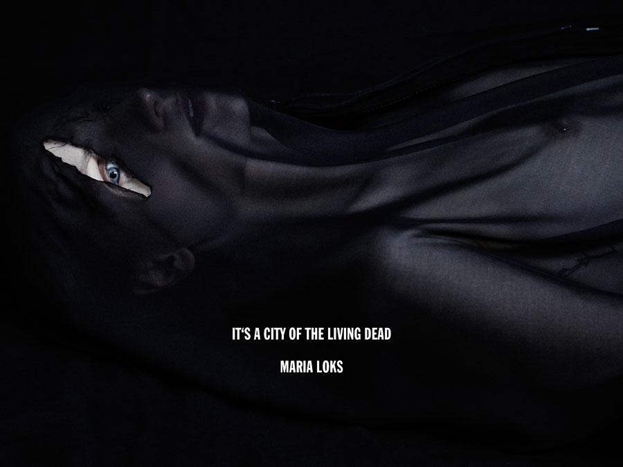 Maria Loks - Paris Is Dead - by Rene Habermacher