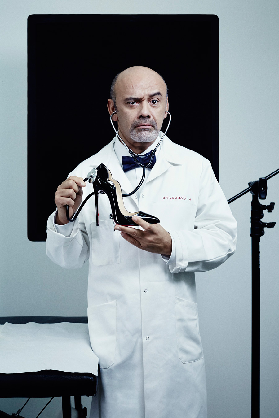 Christian Louboutin by René Habermacher for Paris Is Dead