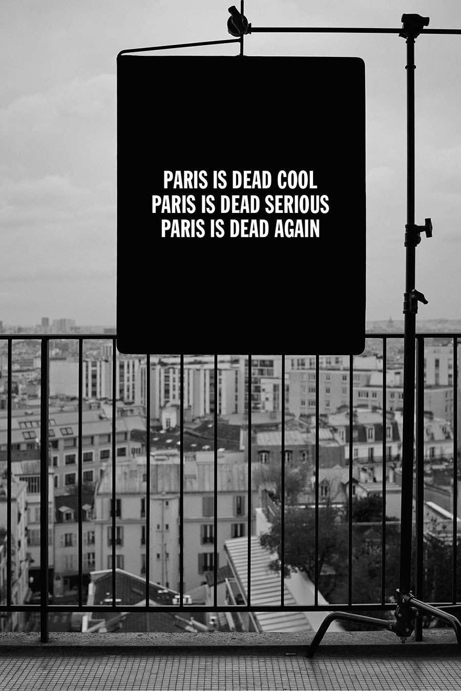 Paris Is Dead Season 2 by René Habermacher - Paris Is Dead COOL / SERIOUS / AGAIN.